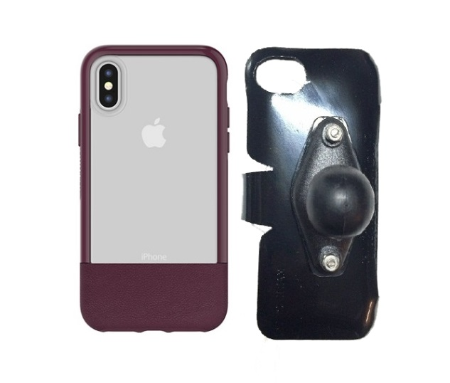 SlipGrip RAM Holder For Apple iPhone X Using Otterbox Statement Case