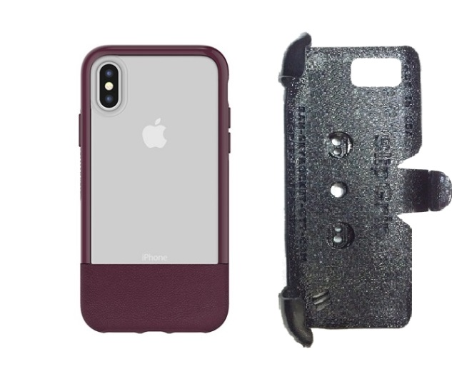 SlipGrip PRO Mounts Holder For Apple iPhone X Using Otterbox Statement Case
