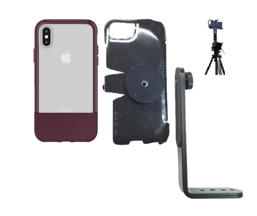 SlipGrip Tripod Mount For Apple iPhone X Using Otterbox Statement Case