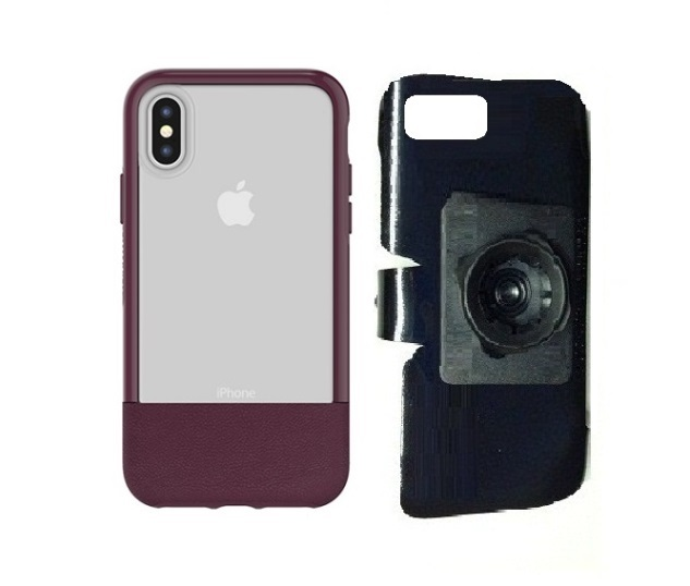 SlipGrip 22mm Ball Holder For Apple iPhone X Using Otterbox Statement Case