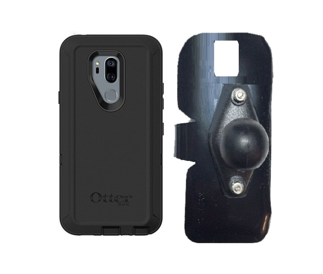 SlipGrip RAM Holder For LG G7 Thin Q Using Otterbox Defender Case
