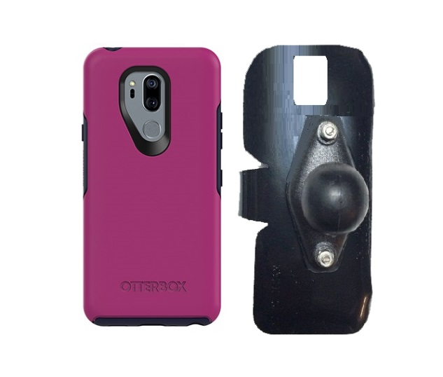 SlipGrip RAM Holder For LG G7 Thin Q Using Otterbox Symmetry Case