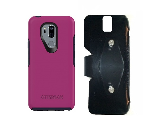 SlipGrip RAM-HOL Holder For LG G7 Thin Q Using Otterbox Symmetry Case