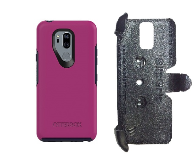 SlipGrip PRO Mounts Holder For LG G7 Thin Q Using Otterbox Symmetry Case