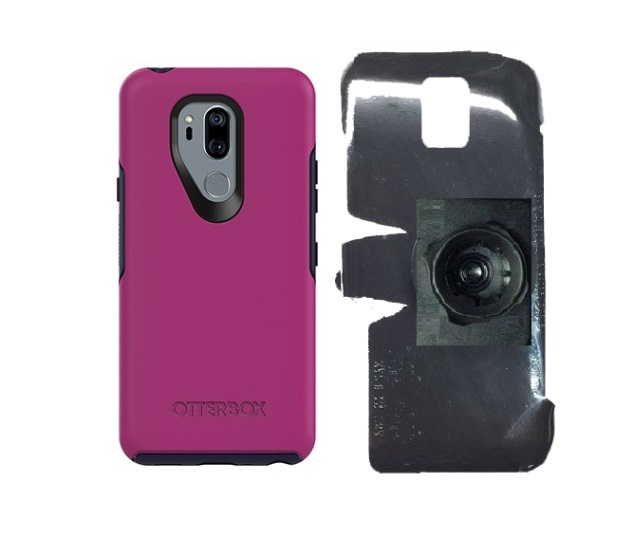 SlipGrip 22mm Ball Holder For LG G7 Thin Q Using Otterbox Symmetry Case