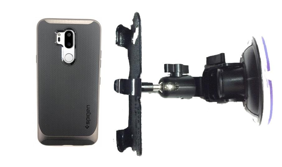 big sale 7a20e e8d74 SlipGrip Car DT Holder Designed For LG G7 ThinQ Spigen Neo Hybrid Case