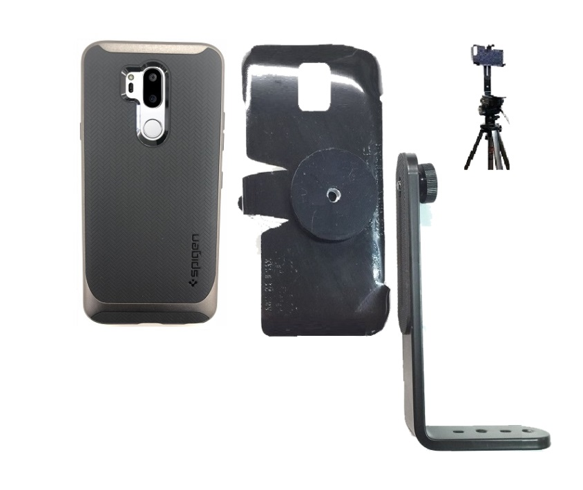 competitive price 0c85a 8c012 SlipGrip Tripod Mount Designed For LG G7 ThinQ Spigen Neo Hybrid Case
