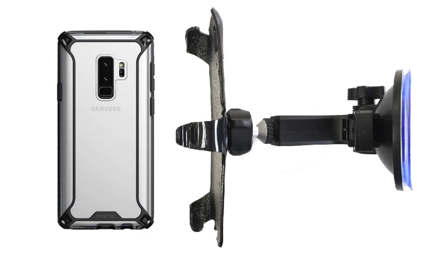 SlipGrip Car Holder Designed For Samsung Galaxy S9 Plus Poetic Affinity Case HV
