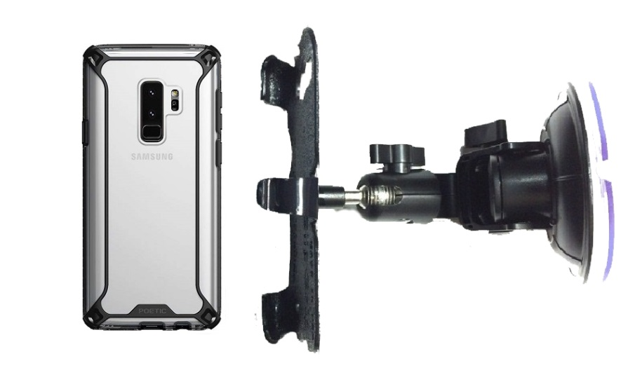 SlipGrip Car DT Holder Designed For Samsung Galaxy S9 Plus Poetic Affinity Case