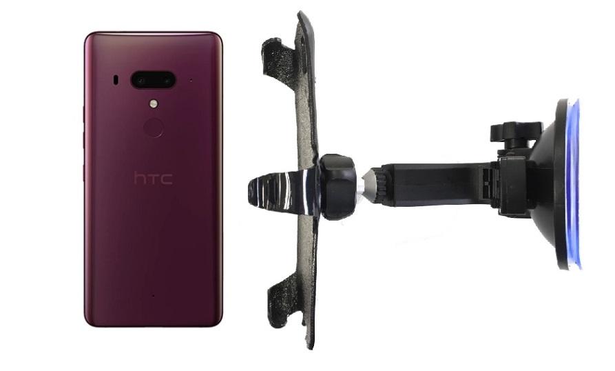 SlipGrip Car Holder For HTC U12 Plus Naked Using No Case On HV