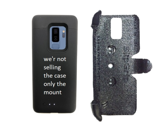 wholesale dealer dd295 a7dca SlipGrip PRO Mounts Holder Designed For Samsung Galaxy S9 Plus Mophie Juice  Pack Case