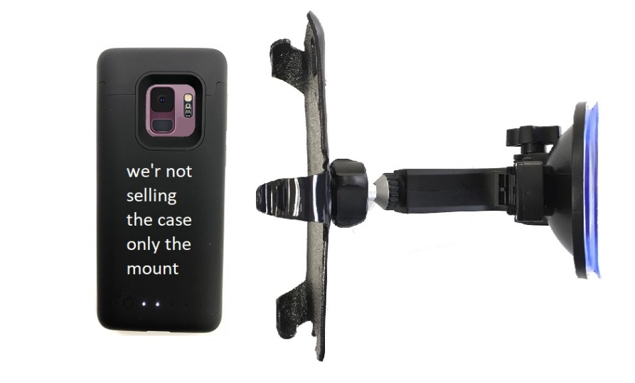 SlipGrip Car Holder Designed For Samsung Galaxy S9 Mophie Juice Pack Case HV