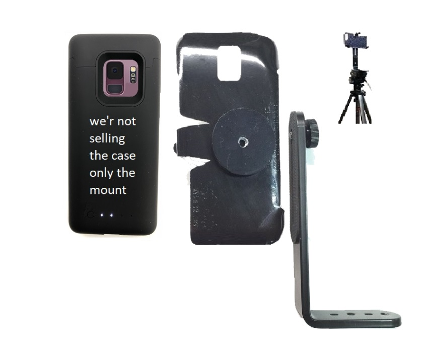 SlipGrip Tripod Mount Designed For Samsung Galaxy S9 Mophie Juice Pack Case