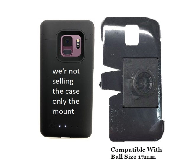 SlipGrip 17MM Holder Designed For Samsung Galaxy S9 Mophie Juice Pack Case