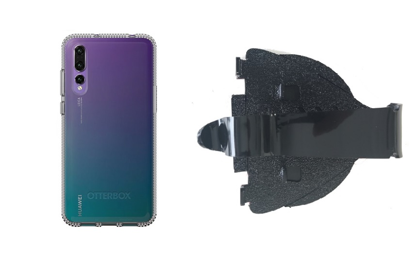 cheap for discount b6228 24aa2 SlipGrip Car Dashboard Holder For Huawei P20 Pro Using Otterbox Prefix Case