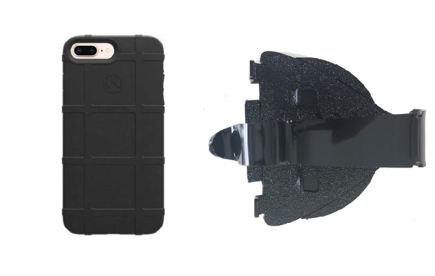 premium selection e5ff2 4b198 SlipGrip Car Dashboard Holder For Apple iPhone 8 Plus Using Magpul Field  Case