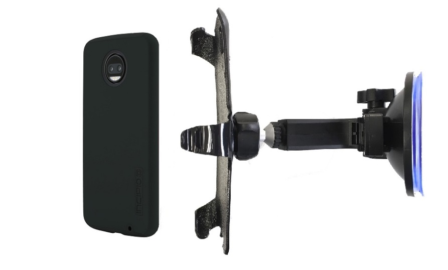 SlipGrip Car Holder Designed For Motorola Moto Z2 Force Incipio Dualpro Case HV