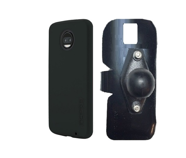 SlipGrip RAM Holder Designed For Motorola Moto Z2 Force Incipio Dualpro Case