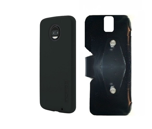 SlipGrip RAM-HOL Holder Designed For Motorola Moto Z2 Force Incipio Dualpro Case
