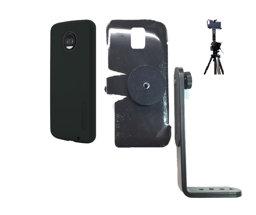 SlipGrip Tripod Mount Designed For Motorola Moto Z2 Force Incipio Dualpro Case