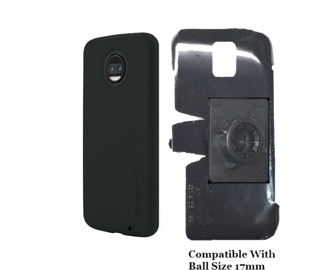 SlipGrip 17MM Holder Designed For Motorola Moto Z2 Force Incipio Dualpro Case