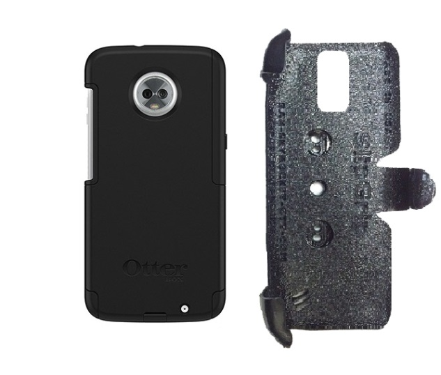 SlipGrip PRO Mounts Holder Designed For Motorola Moto Z3 & Z3 Play Otterbox Commuter Case