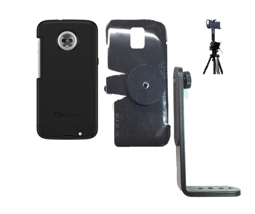 huge selection of c2813 2c9d6 SlipGrip Tripod Mount Designed For Motorola Moto Z3 & Z3 Play Otterbox  Commuter Case