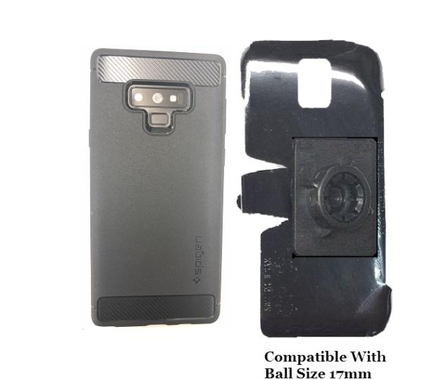 best sneakers 8f90f e0d9a SlipGrip 17MM Holder Designed For Samsung Galaxy Note 9 Spigen Rugged Armor  Case