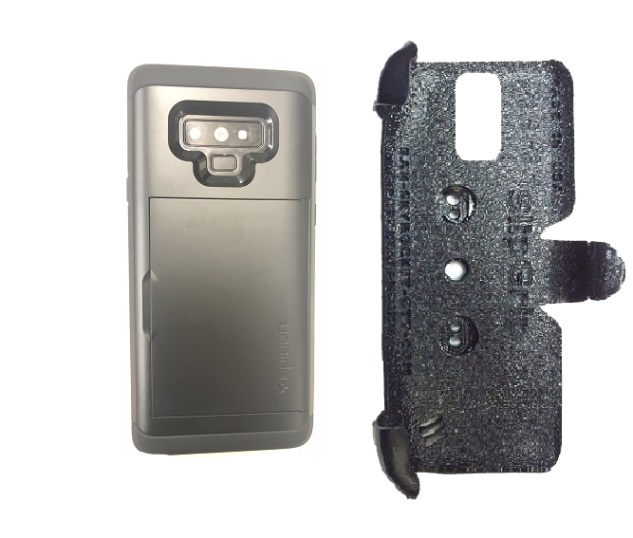 SlipGrip PRO Mounts Holder Designed For Samsung Galaxy Note 9 Spigen Slim Armor CS Case