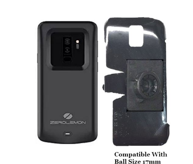 SlipGrip 17MM Holder For Samsung Galaxy S9 Plus Using Zerolemon 5200mAh Case