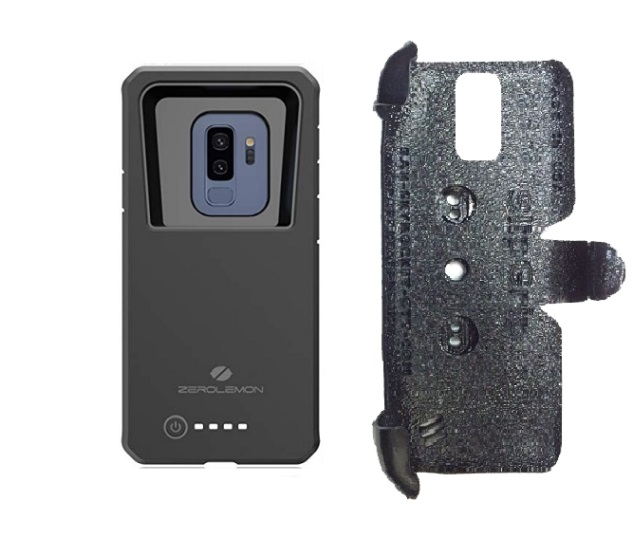 SlipGrip PRO Mounts Holder For Samsung Galaxy S9 Plus Using Zerolemon 8000mAh Case
