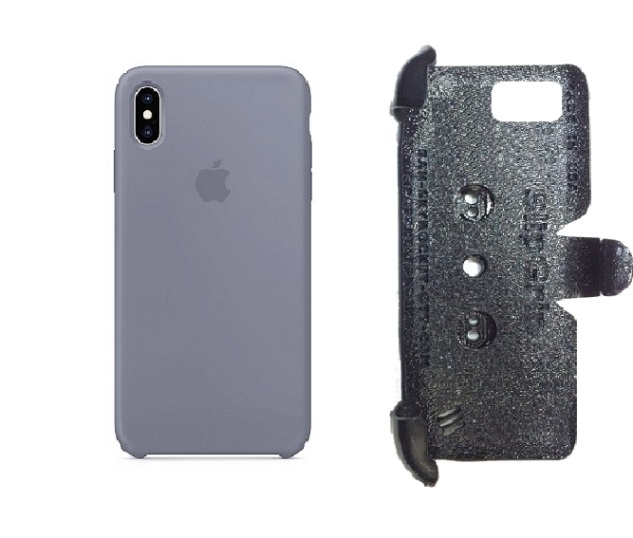 SlipGrip PRO Mounts Holder For Apple iPhone XS Max Using Apple Silicone Case
