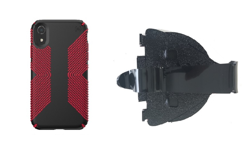 new concept 353a8 f922a SlipGrip Car Dashboard Holder Designed For Apple iPhone XR Speck Presidio  Grip Case