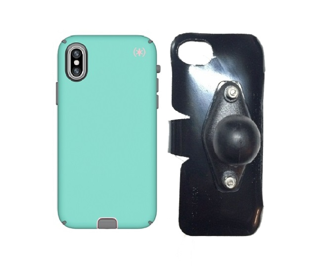 SlipGrip RAM Holder Designed For Apple iPhone X/XS Speck Presidio Sport Case