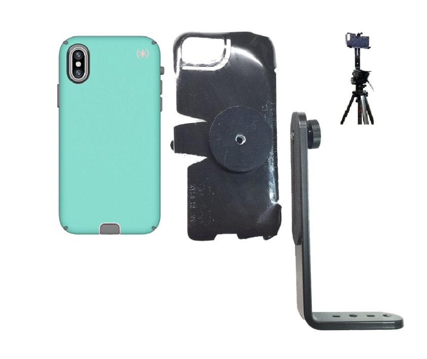 SlipGrip Tripod Mount Designed For Apple iPhone X/XS Speck Presidio Sport Case