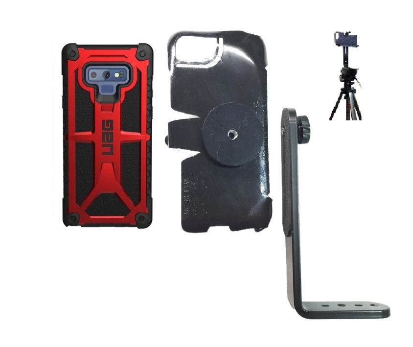 SlipGrip Tripod Mount Designed For Samsung Galaxy Note 9 UAG Monarch Case