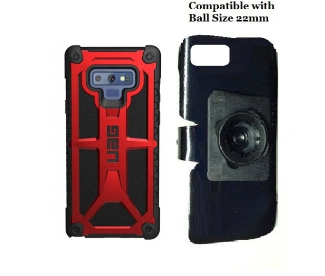 SlipGrip 22mm Ball Holder Designed For Samsung Galaxy Note 9 UAG Monarch Case
