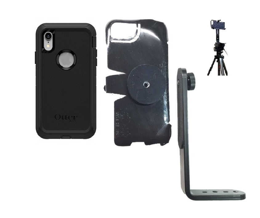 SlipGrip Tripod Mount For Apple iPhone XR Using Otterbox Defender Case