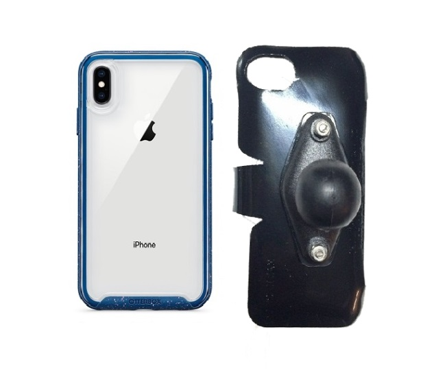 SlipGrip RAM Holder For Apple iPhone XS Max Using Otterbox Traction Case