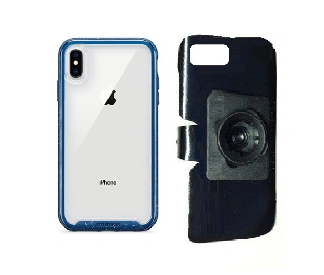 SlipGrip 22mm Ball Holder For Apple iPhone XS Max Using Otterbox Traction Case