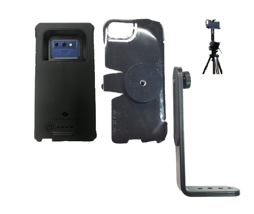 SlipGrip Tripod Mount For Samsung Galaxy Note 9 Using ZeroLemon 10000mAh EXT BAT Case