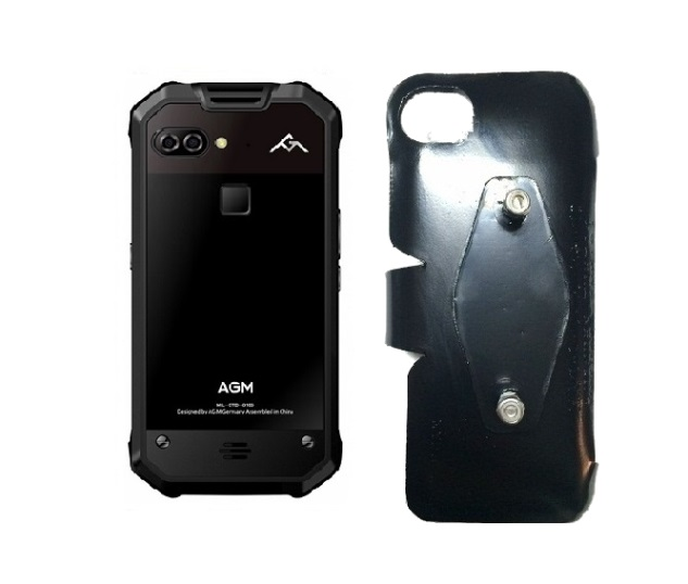 SlipGrip RAM-HOL Holder Designed For AGM X2 653 Phone Naked No Case On
