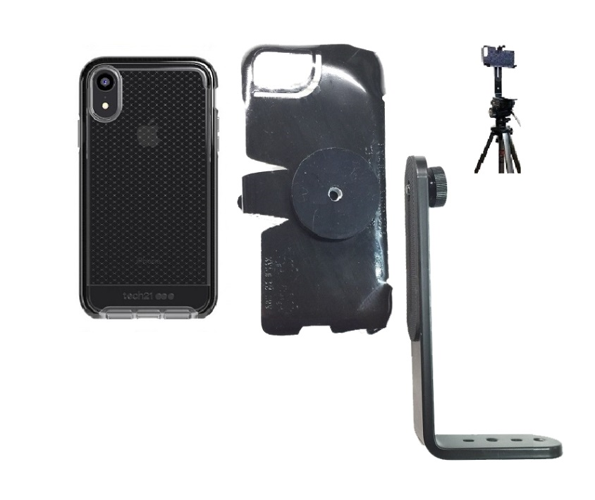 SlipGrip Tripod Mount Designed For Apple iPhone XR Tech21 EVO Check Case
