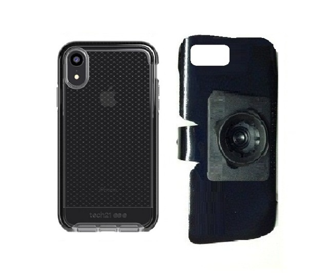 SlipGrip 22mm Ball Holder Designed For Apple iPhone XR Tech21 EVO Check Case