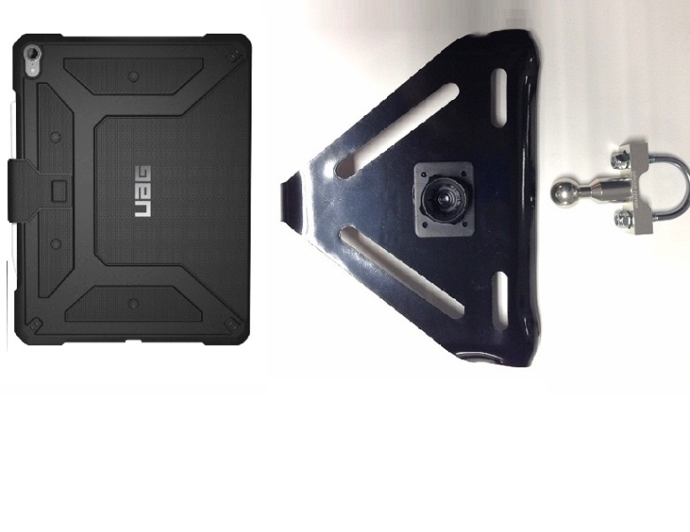 SlipGrip U-BOLT Mount Designed For Apple iPad Pro 12.9 In 3rd Gen Tablet UAG Metropolis Case