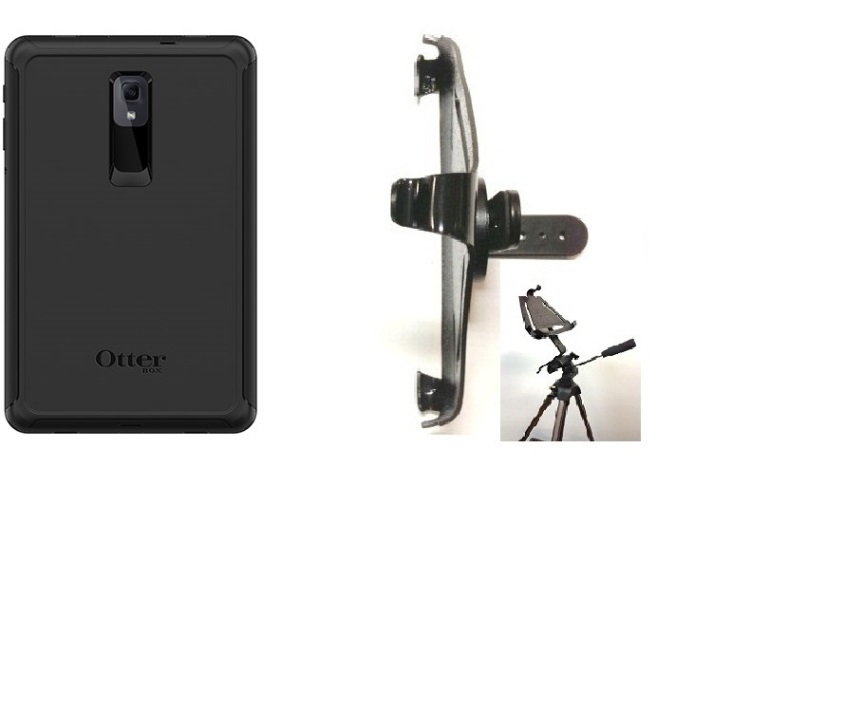SlipGrip Tripod Mount Designed For Samsung Galaxy Tab A 10.5 Tablet Otterbox Defender Case
