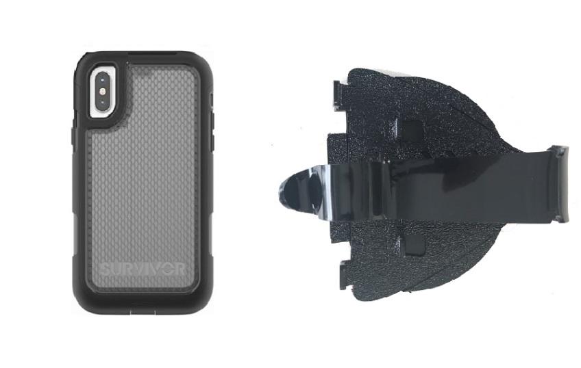 promo code 3fe39 7109f SlipGrip Car Dashboard Holder Designed For Apple iPhone XR Griffin  All-Terrain Case