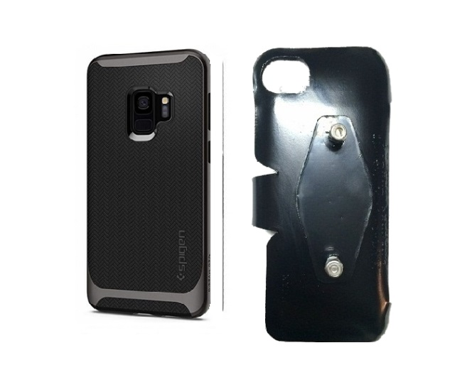 SlipGrip RAM-HOL Holder For Samsung Galaxy S9 Using Spigen Neo Hybrid Case