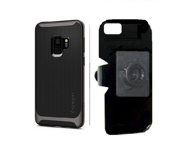SlipGrip 17MM Holder For Samsung Galaxy S9 Using Spigen Neo Hybrid Case