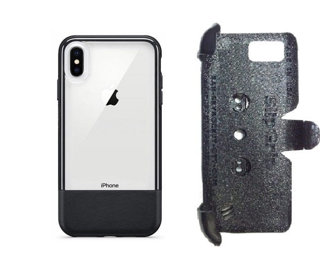 SlipGrip PRO Mounts Holder For Apple iPhone XS Max Using Otterbox Statement Case